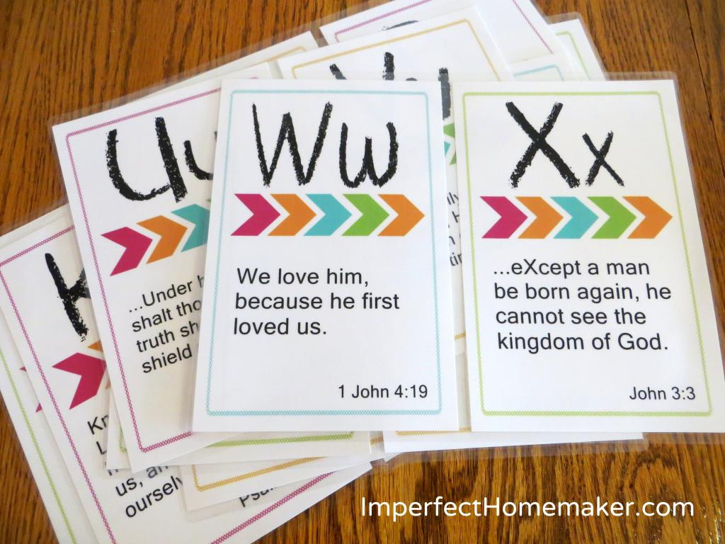 Christmas Bible Verses For Cards Kids Kjv Daughter And: Teaching The Importance Of Scripture Memory (Practical