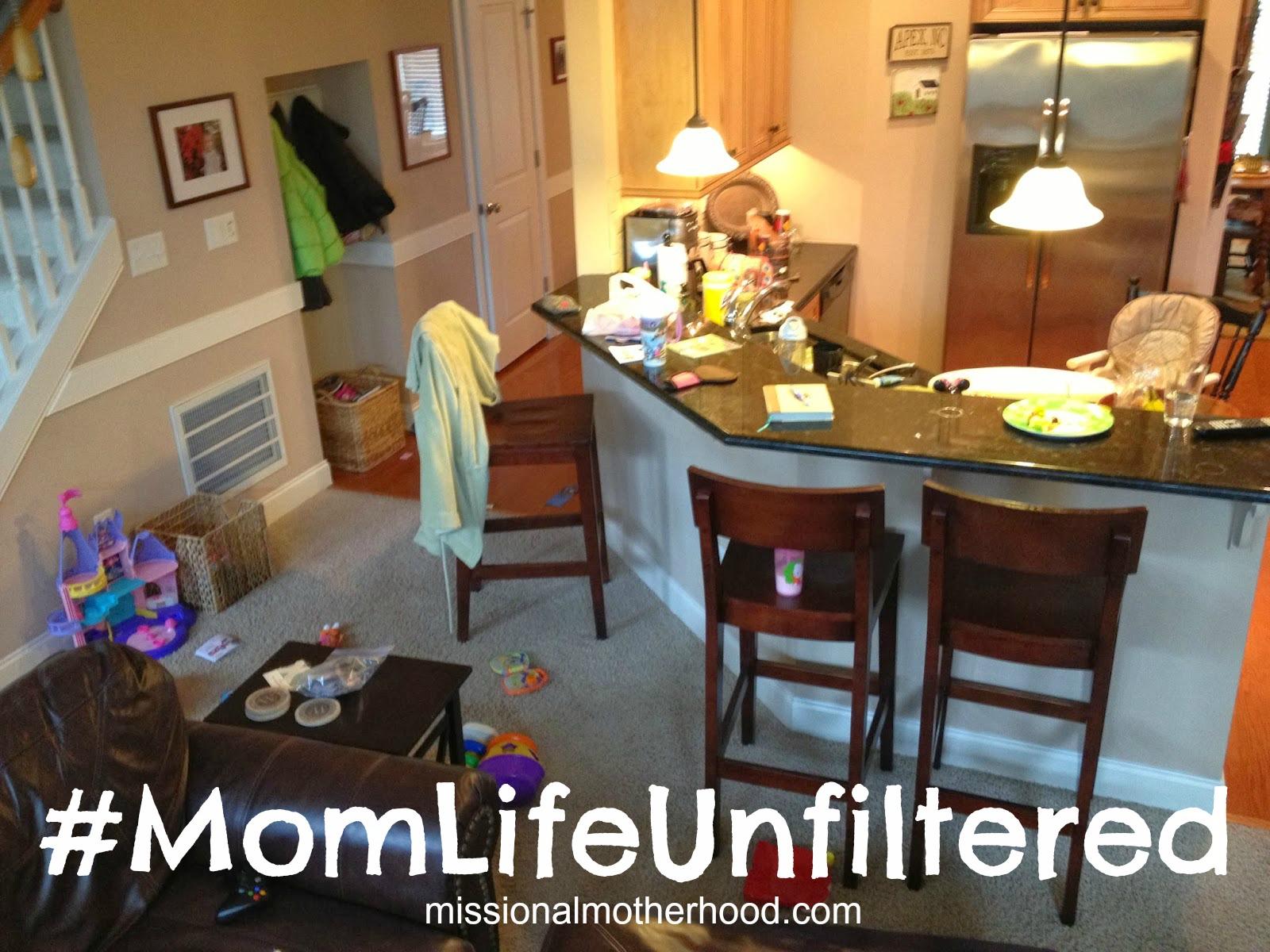 #MomLifeUnfiltered