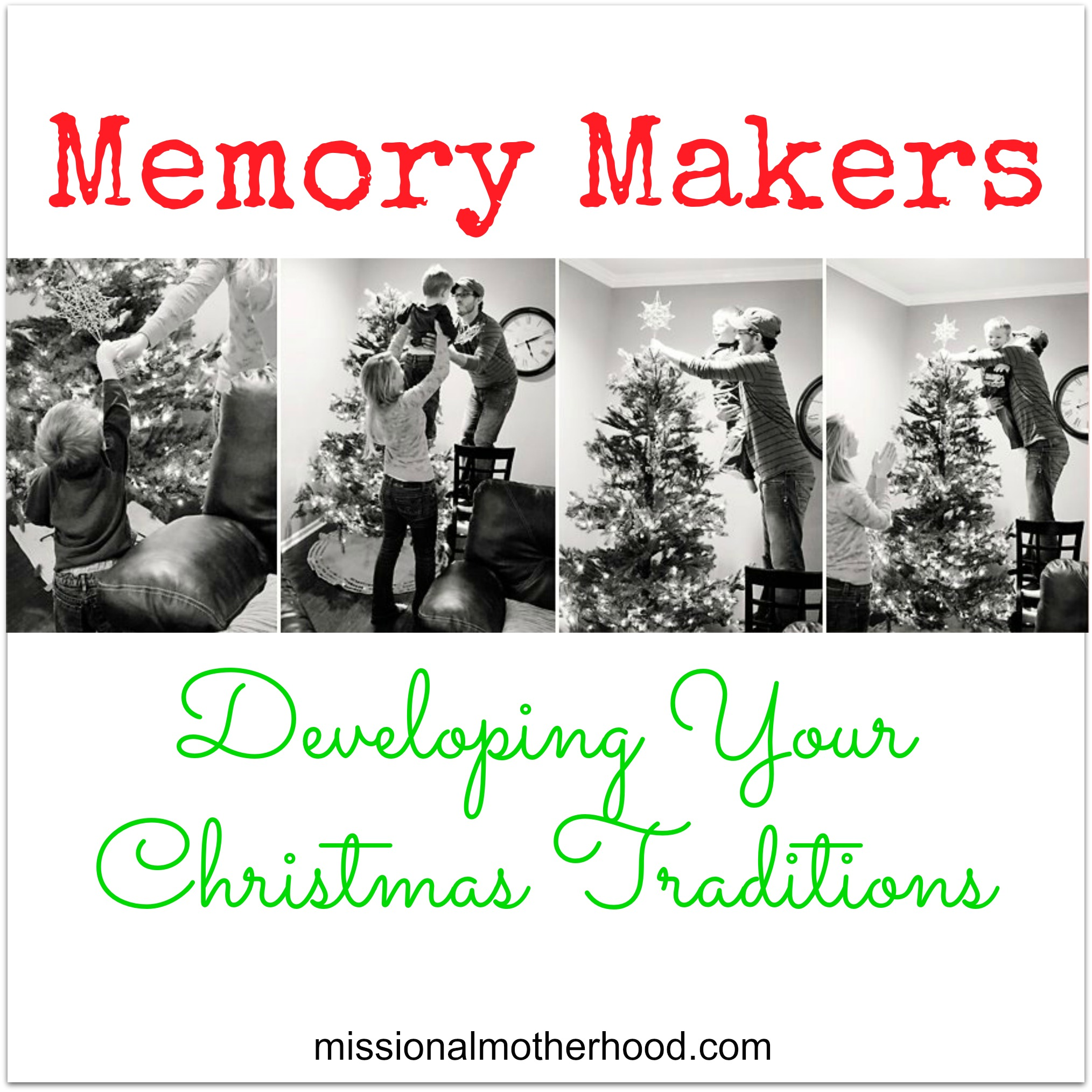 Developing Your Christmas Traditions