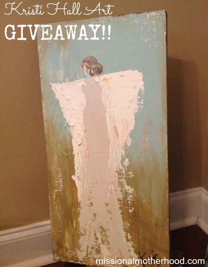 Kristi Hall Art Giveaway