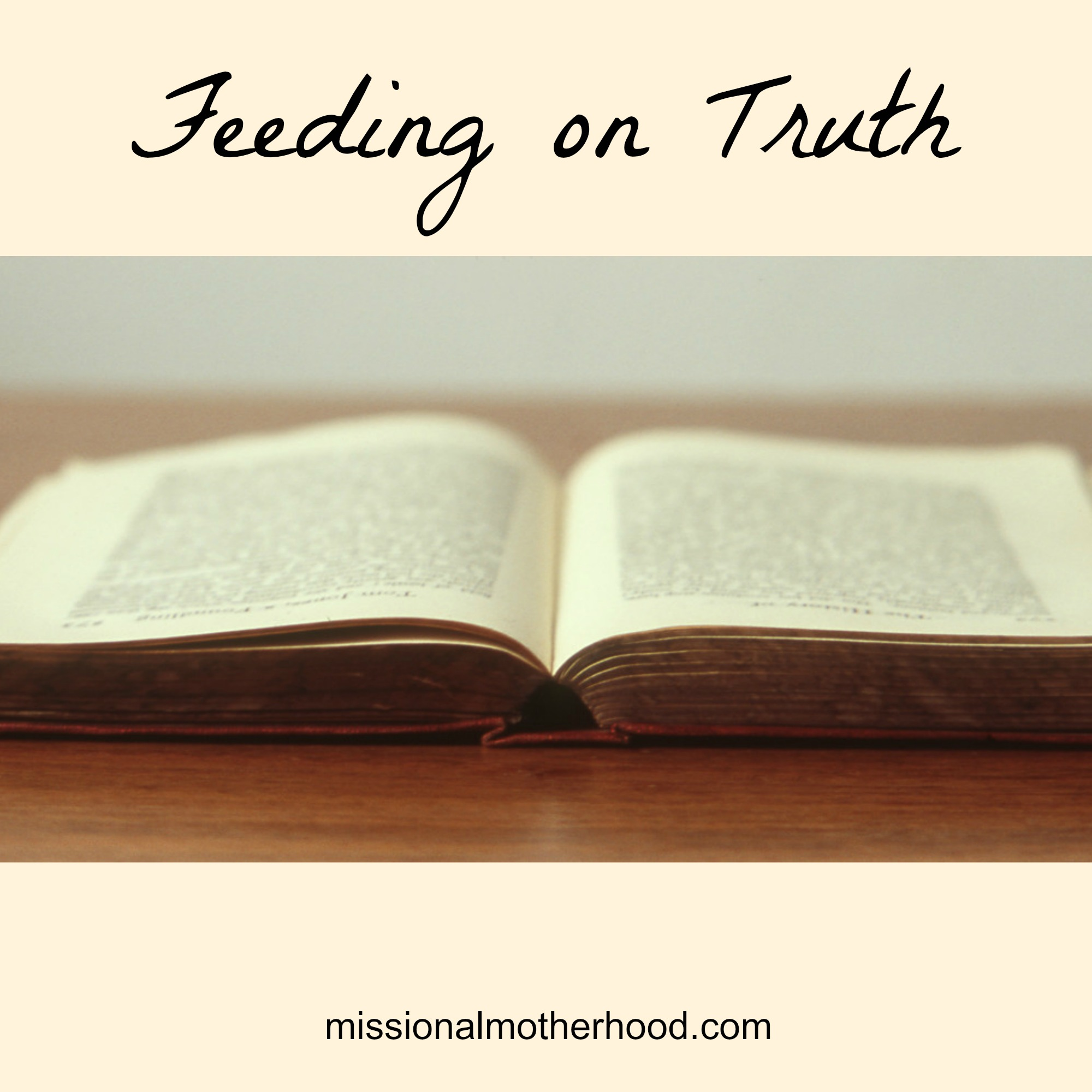 Feeding on Truth