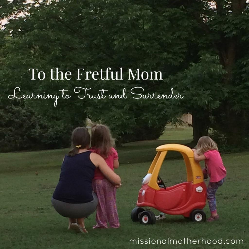 fretful mom