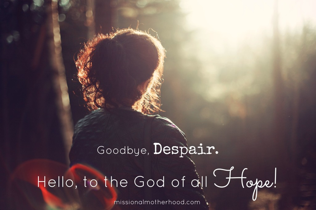 God of all hope