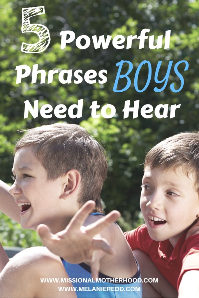 5 Powerful Phrases for Boys