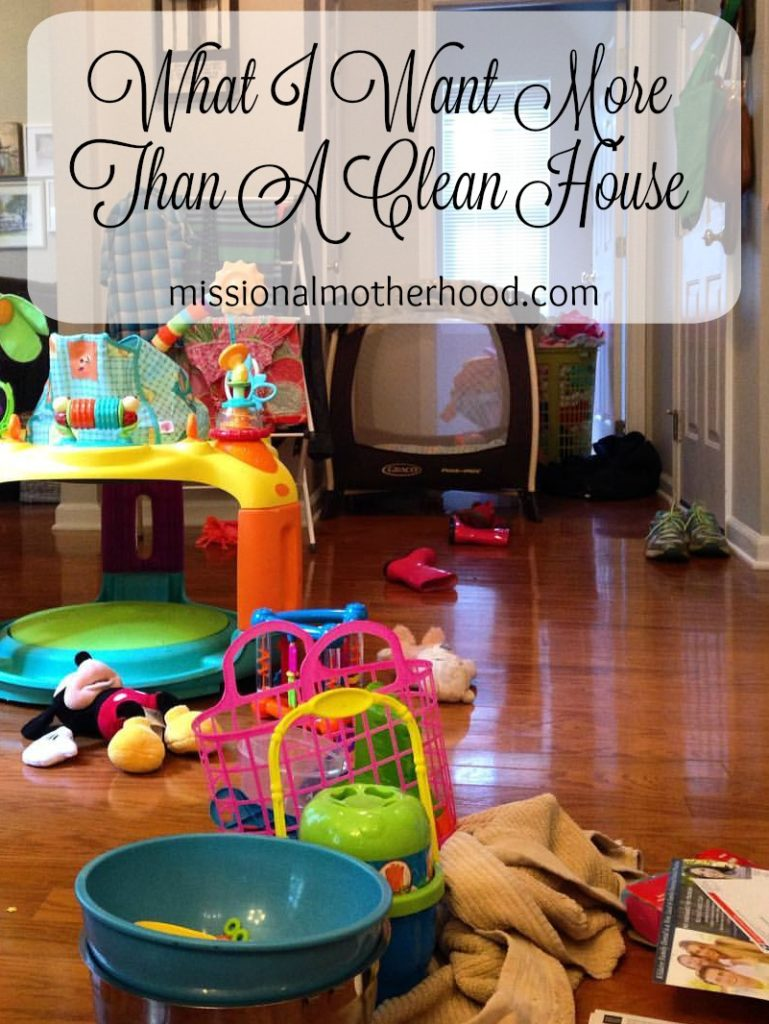 more than a clean house