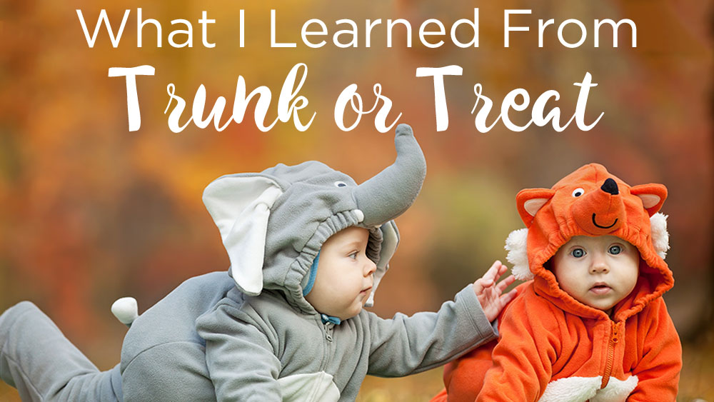 What I learned from Trunk or Treat