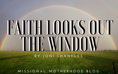 Faith Looks Out The Window