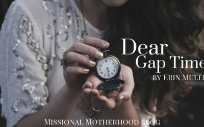 Dear Gap Time,
