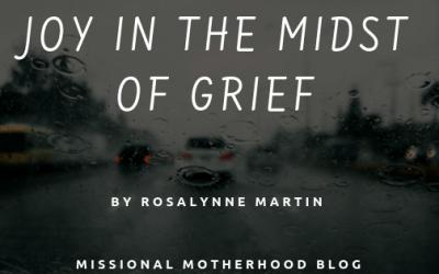 Joy In The Midst Of Grief
