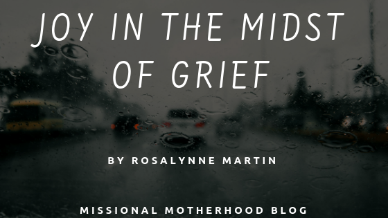 Joy In The Midst Of Grief
