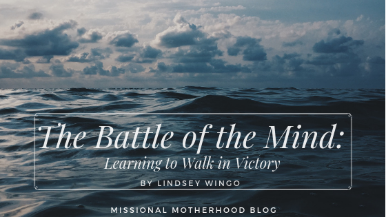 The Battle of the Mind: Learning to Walk in Victory