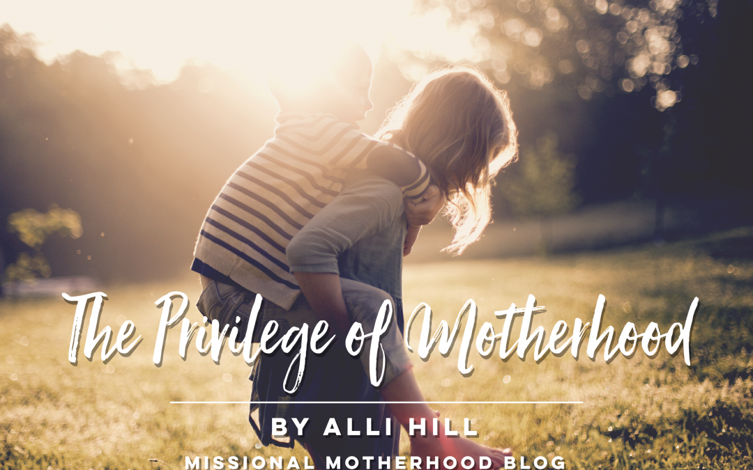 The Privilege of Missional Motherhood