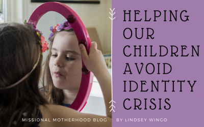 Helping Our Children Avoid Identity Crisis