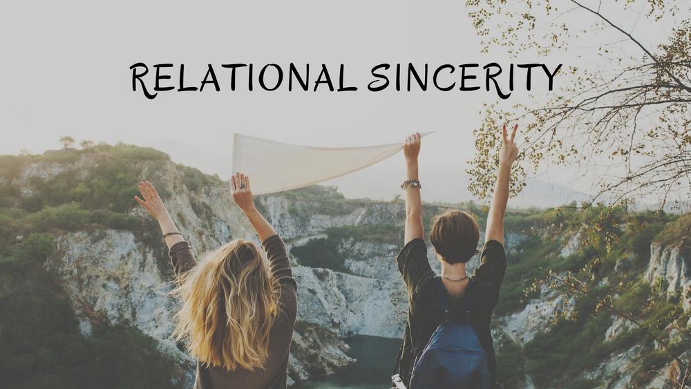 Relational Sincerity
