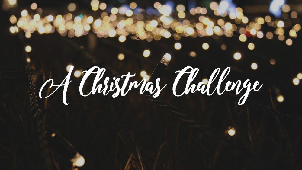 A Christmas Challenge
