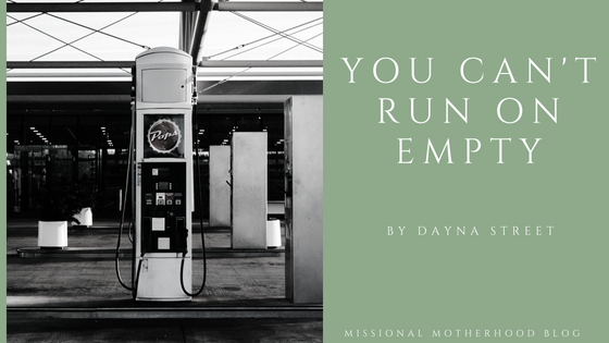 You Can't Run On Empty