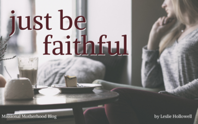 Just Be Faithful